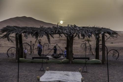 Luxury camp Merzouga